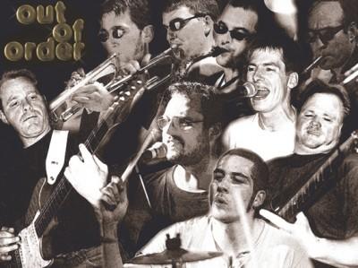 Die Band in stimmungsvoller Eintracht (Entstanden um 2004)